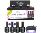 Mitty Salon Essentials at Home Nail Kit - Purple Berry 1