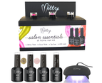 Mitty Salon Essentials at Home Nail Kit - Golden Chocolate 1