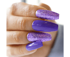 Mitty Salon Essentials at Home Nail Kit - Purple Berry 2