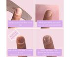 Mitty Salon Essentials at Home Nail Kit - Purple Berry 9