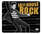 Elvis Presley Mouse Mat Pad Jailhouse Rock Logo  Official - Black 2