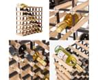 Timber Wine Rack Storage Cellar Organiser 42 Bottle 3