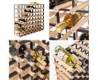 Timber Wine Rack Storage Cellar Organiser 72 Bottle 3