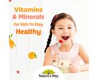 Nature's Way-Kids Smart Vita Gummies Multivitamin for Fussy Eaters 60 Pastilles 2