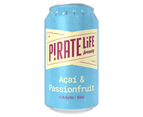 Pirate Life Brewing Acai & Passionfruit Beer 16 x 355mL Cans 3