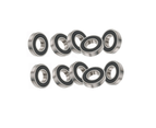 10x Bearings 6000-6310 2RS DD VV Rubber Seals Deep Grooved Radial Ball Bearing 1