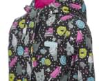 Skechers Toddler Girls' Rainslicker Rain Jacket - Black 4