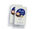 2 x 8pk Nuvia Drinking Chocolate Sachets 30% Cocoa 98% Sugar-Free 1