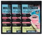 3 x Beauty Formulas Multi-Mask For Dry Skin Face Treatment 15g 1