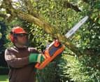 Black & Decker 2200W Corded Chainsaw - Black/Orange 45cm 3