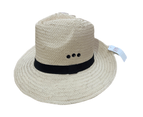 Dents Woven Paper Straw Panama Hat With Band 1