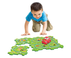 The Wiggles Motorised Puzzle Track Playset with Big Red Car 2