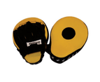 Boxing Focus Pads Hook & Jab Mitts Thai Kick MMA Training Punch Bag Curved 1