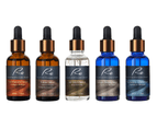 5 x Re Facial Serums - Ageless Illumination Treatment AM/PM - 5x30mL 1