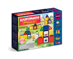Magformers 705007 WOW HOUSE Magnetic Construction STEM Play Set 1