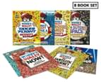 Where's Wally Amazing Adventures & Activities 8-Book Collection 1