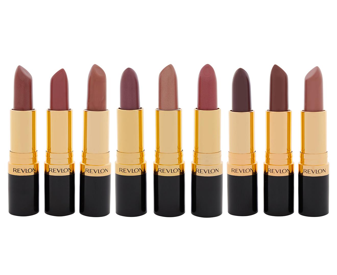 Revlon 9-Piece Super Lustrous Lipstick Set - The