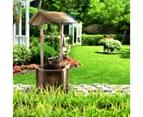 Garden Wishing Well Outdoor Wooden Patio Home Decoration 5