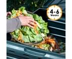 290L Compost Bin Food Waste Recycling Composter Kitchen Garden Composting 5