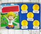 Fisher-Price Little People Stuck On Stories Book & Board Game Set 3