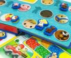 Fisher-Price Little People Stuck On Stories Book & Board Game Set 4