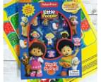 Fisher-Price Little People Stuck On Stories Book & Board Game Set 2