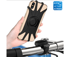 VUP Detachable Bike Mount Phone Holder Universal Bicycle for iPhone Samsung Huawei Oppo Google HTC 1