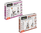 STEM Mechanics Multipack - Pulley Drives And Newton'S Laws STEM Construction Set 1