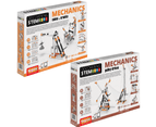 STEM Mechanics Multipack - Cams & Cranks And Pulley Drives STEM Construction Set 1