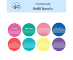 Catherine Pooler Ink Refill Bundle - Party Collection: CARNIVALE Bundle 8 Colours 1