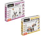 STEM Mechanics Multipack - Wheels, Axles & Planes And Newton'S Laws STEM Construction Set 1