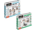 STEM Mechanics Multipack - Gears & Worm Drives And STEM Structures STEM Construction Set 1