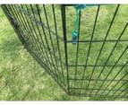 6 Panel Dog Cat Exercise Playpen Puppy Enclosure Rabbit Fence With Cover 3