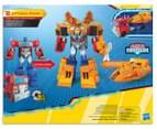 Transformers Cyberverse Ark Power Optimus Prime Figurine 7