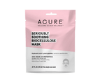 Acure Seriously Soothing 100% Vegan Biocellulose Mask (One Single Use Mask) 1