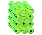 72x Meister S1 (Stage 1) Green Spot Tennis Balls - Yellow/Green 1