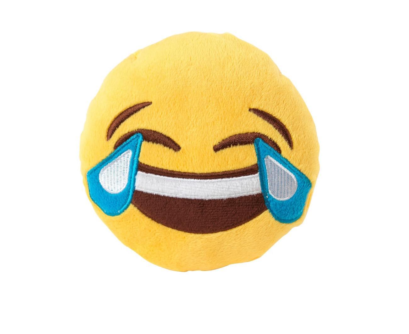 Emoji Dog Plush Toy