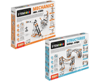 STEM Mechanics Multipack - Cams & Cranks And STEM Structures STEM Construction Set 1