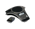 VTech VCS702A ErisStation Conference Phone with 2 Wireless Microphones Black 1