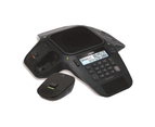 VTech VCS704A ErisStation Conference Phone with 4 Wireless Microphones Black 1