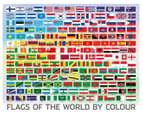 Puzzlebilities: Flags Of The World 500-Piece Jigsaw Puzzle 2