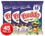 3 x Cadbury Dairy Milk Freddo Milky Top Share Pack 180g 1