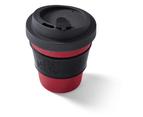 BioSip Travel Mug 12oz - Dark Grey / Red / Black 1