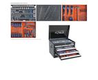 Sp Tool Kit 218 Pcs Metric/Sae Tool Box 7 Drawers Chest Sp50121 Black Toolbox 1