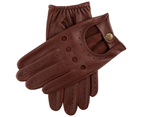 Dents Delta Men's Classic Leather Driving Gloves - English Tan 1