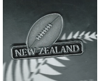 New Zealand Rugby Union Ball Lapel Pin 1