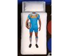 Gold Coast Titans NRL Team Player Doona Cover Set Single Size 1