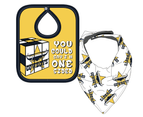 North Queensland Cowboys NRL 2 Bib Set - You Could Say I'm One Sided 1