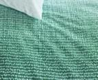 Bedding House Graphic Disorder King Bed Quilt Cover Set - Green 2