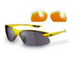 Sunwise Windrush Sports Yellow Sunglasses with 4 Interchangeable Lenses 1